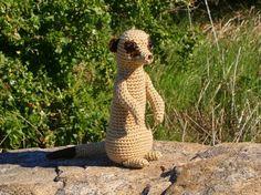 Meerkat #crochet pattern by @June Gilbank