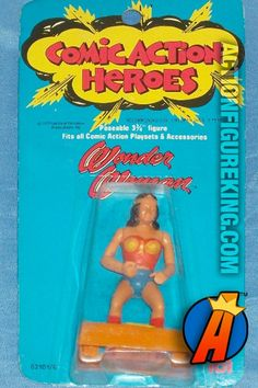 #wonderwoman #comicactionheroes #mego #actionfigures Mego Comic Action Heroes 3.75-inch Wonder Woman action figure. Check out our huge database of new and vintage collectibles including Mego's Comic Action Heroes... http://actionfigureking.com/list-3/mego/265-mego-comic-action-heroes-database-of-tys-and-collectibles