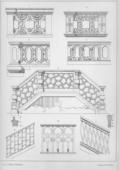 Detail Architecture, Architecture Drawings, Gothic Architecture, Classical Architecture, Historical Architecture, Abstract Painting Techniques, Architectural Columns, Villa Plan, Architect Drawing