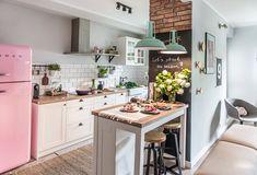 在家野餐!粉嫩鄉村風 18 坪家庭公寓創造完美戀家生活 | 設計王