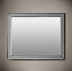 Venetian Beaded Mirror 30 X 40 340 00 Restorationhardware Mirrors Feature Broad Beveled