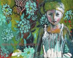 I have BIG love for this artist.  Her name is Maria Pace-Wynters.  LOVE!