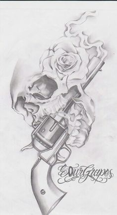 This strapped to a thigh garter tattoo would be a great next tattoo. - This strapped to a thigh garter tattoo would be a great next tattoo. Tattoo Sketches, Drawing Sketches, Tattoo Drawings, Tattoo Pics, Skull Rose Tattoos, Body Art Tattoos, Skull Thigh Tattoos, Key Tattoos, Butterfly Tattoos