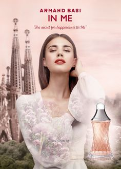 In Me by Armand Basi is a Chypre Floral fragrance for women. This is a new fragrance. In Me was launched in The nose behind this fragrance is Nath. New Fragrances, Fragrance Parfum, Armand Basi, Perfume Adverts, Kimono Outfit, Summer Kimono, Parfum Spray, Petite Fashion, One Shoulder Wedding Dress