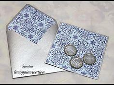 Envelope liners tutorial Envelope Punch Board-Busta con interno coordinato alla card-Scrap Tutorial - YouTube