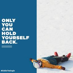 Never Give Up, Fly Like Eddie the Eagle   Giveaway