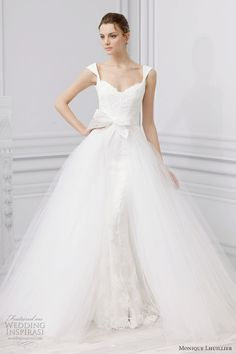 Monique Lhuillier Bridal Spring 2013 Wedding Dresses | Wedding Inspirasi