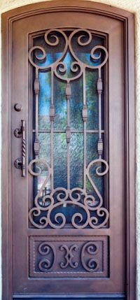 First Impression has a wide selection of wrought iron entry doors. Steel doors offer beauty and security. & 25 Front Gate Designs: Welcome your Guest with Perfect Gate Design ...
