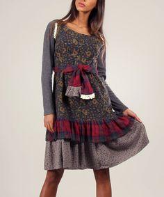 5cddc763d979b Ian Mosh Green   Anthracite Juliette Dress   Tee