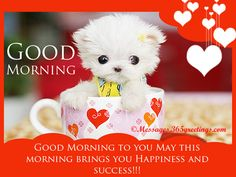 Good Morning Messages - Messages, Wordings and Gift Ideas