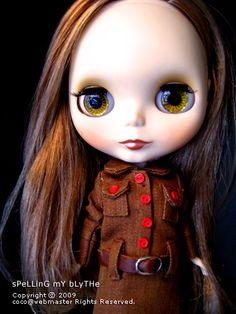 Neo Blythe Princess Milk BisQuit de Q-pot., via Flickr.