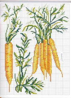 Gallery.ru / Фото #14 - Legumes au Point de Croix - samashveya