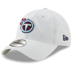 separation shoes 37f50 a521a Men s Tennessee Titans New Era White Core Classic White 9TWENTY Adjustable  Hat, Your Price
