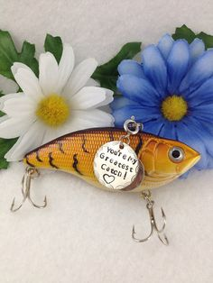 Customized Fishing Lure with Your Special by CustomFishingTackle, $20.00