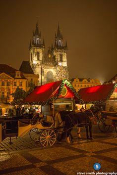 Christmas Markets -- Prague, Czech Republic #Prague #CZ #Czechrepublic