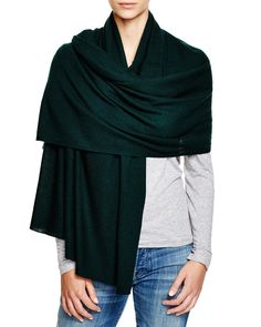 C by Bloomingdale's Cashmere Travel Wrap | Bloomingdale's