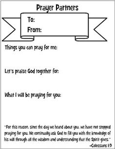 Look to Him and be Radiant: Prayer Partner Cards