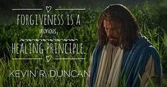 It is amazing the strength we receive when we forgive others! #LDSconf #ElderDuncan #Mormon #LDS