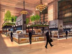 Nordic chef plans Grand Central food hall