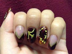 Sailor Mars Nails!