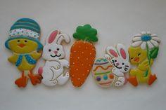 Chicks & Bunnies Sugar Cookies By ~ Jinnee Parr ~