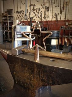 Making of a forged bronze tree topper by Kyle Lucia of Phoenix Handcraft