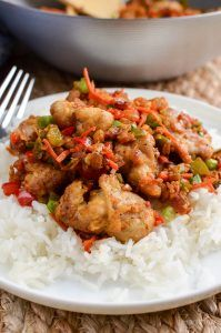 Low Syn Chinese Salt and Pepper Chicken - create this popular Chinese dish in your own home, perfectly Slimming World friendly chicken dishes Slimming World Fakeaway, Slimming World Dinners, Slimming World Recipes Syn Free, Slimming World Diet, Slimming Eats, Slimming World Chicken Dishes, Fake Away Slimming World, Actifry Recipes Slimming World, Syn Free Food
