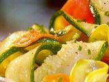 Carrot, Zucchini, Squash Ribbons Recipe
