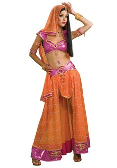 Sexy Bollywood Dancer Costume   eBay