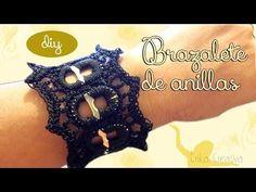 ♥ DIY: Pulsera de Anillas de Lata/Chapas Arcoiris ♥ - Rainbow - YouTube