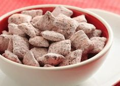 Pink Powder Puff Crunch from Chex.com - Home of General Mills' Chex Cereals and the Original Chex Party Mix