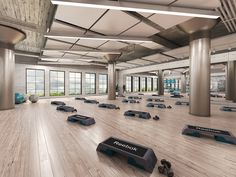 Continuing with fitness design. We present the all-inclusive luxury gym for the best fitness experience. Best equipment, comfy mats, polished design and four Fitness Design, Gym Design, Luxury Gym, Hobbies For Men, Cheap Hobbies, Sports Complex, Power Rack, Group Fitness, Gym Fitness