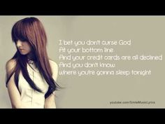 Christina Grimmie - I Bet You Don't Curse God Lyrics - YouTube