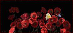 Картинки по запросу цветы маки в букете gif