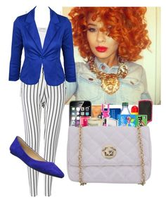 """presentation tomorrow"" by swagieboo ❤ liked on Polyvore featuring American Vintage, Pussycat and Joe's Jeans"