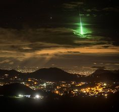 Giant Meteor 2016 is green. And in India.