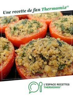 tomates provencales par laura-49. Une recette de fan à retrouver dans la catégorie Plats végétariens sur www.espace-recettes.fr, de Thermomix®.