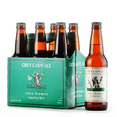 Grey Lady Ale, beer brewed with spices and natural flavors: http://www.towncenterwine.com/beer_details.php?beer_id=b258