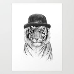Welcome to the jungle › Art Print by Balázs Solti