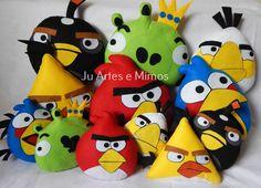 Angry birds de 20cm e 35cm