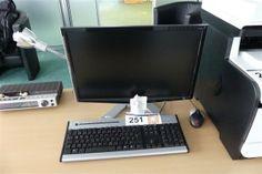 PC-Workstation Acer - Büroausstattung aus Insolvenz - Karner & Dechow - Auktionen Office Equipment, Monitor, Furniture, Auction, Arredamento