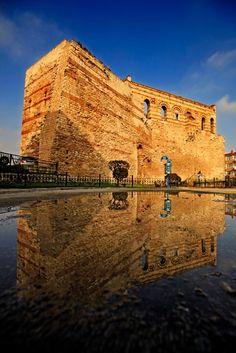 Tekfur Sarayı / Byzantine palace of the Porphyrogenitus (Porphyrogennetos)…