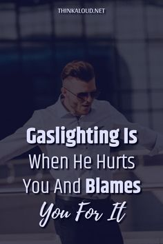 It's not your fault. You have nothing to the with the fact that both you and your relationship are in a bad place right now. He's the one who's responsible for the pain you're feeling. He's the one to blame since he's trying to tear you down completely. Complicated Relationship, Gaslighting, Blame, No Response, It Hurts, Facts, Feelings, Movie Posters, Movies