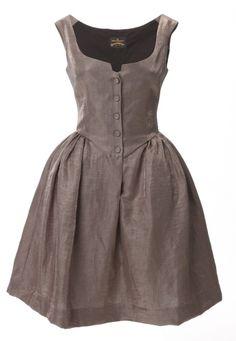 #Spring/Summer 2012 Vivienne Westwood: #Metallic Pannier #Dress
