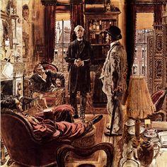 THE ADVENTURE OF THE GOLD HUNTER Robert Fawcett -