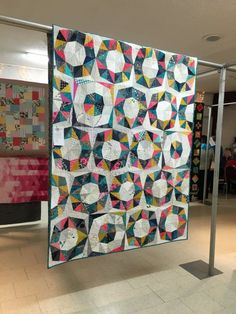 Fractal Quilt for Jaclyn | by members of the Saskatoon Modern Quilt Guild
