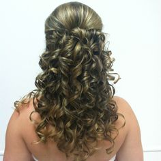 Quinceanera Hair - with extensions
