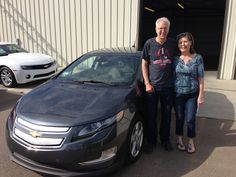 Congrats to Jerry and Leandra M. on their purchase of a new '13 Volt! Enjoy the ride!