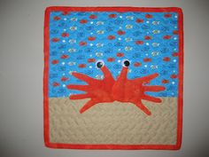 That's Sew Julie: Handprint Crab Tutorial