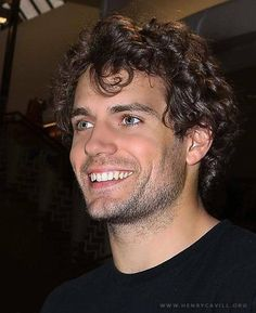 Henry Cavill  I just can't get enough of him!